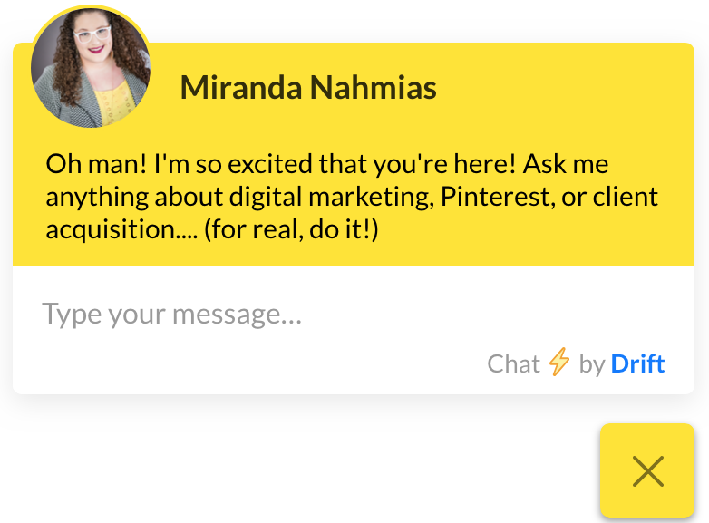 Miranda chatbot