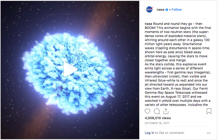 NASA on Instagram