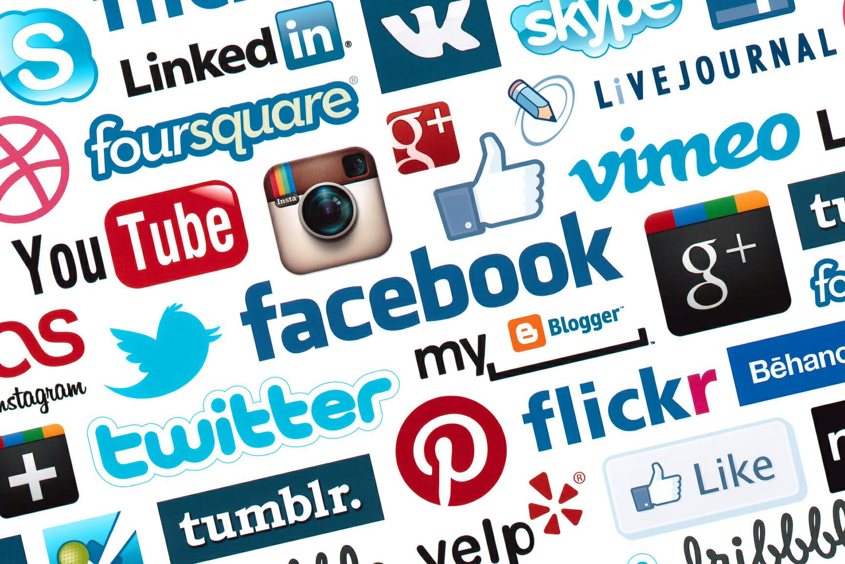 60+ Social Media sites