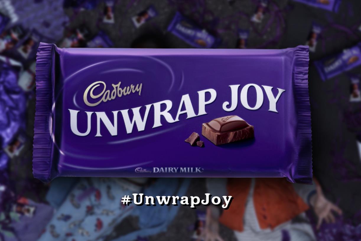 Cadbury unwrap joy
