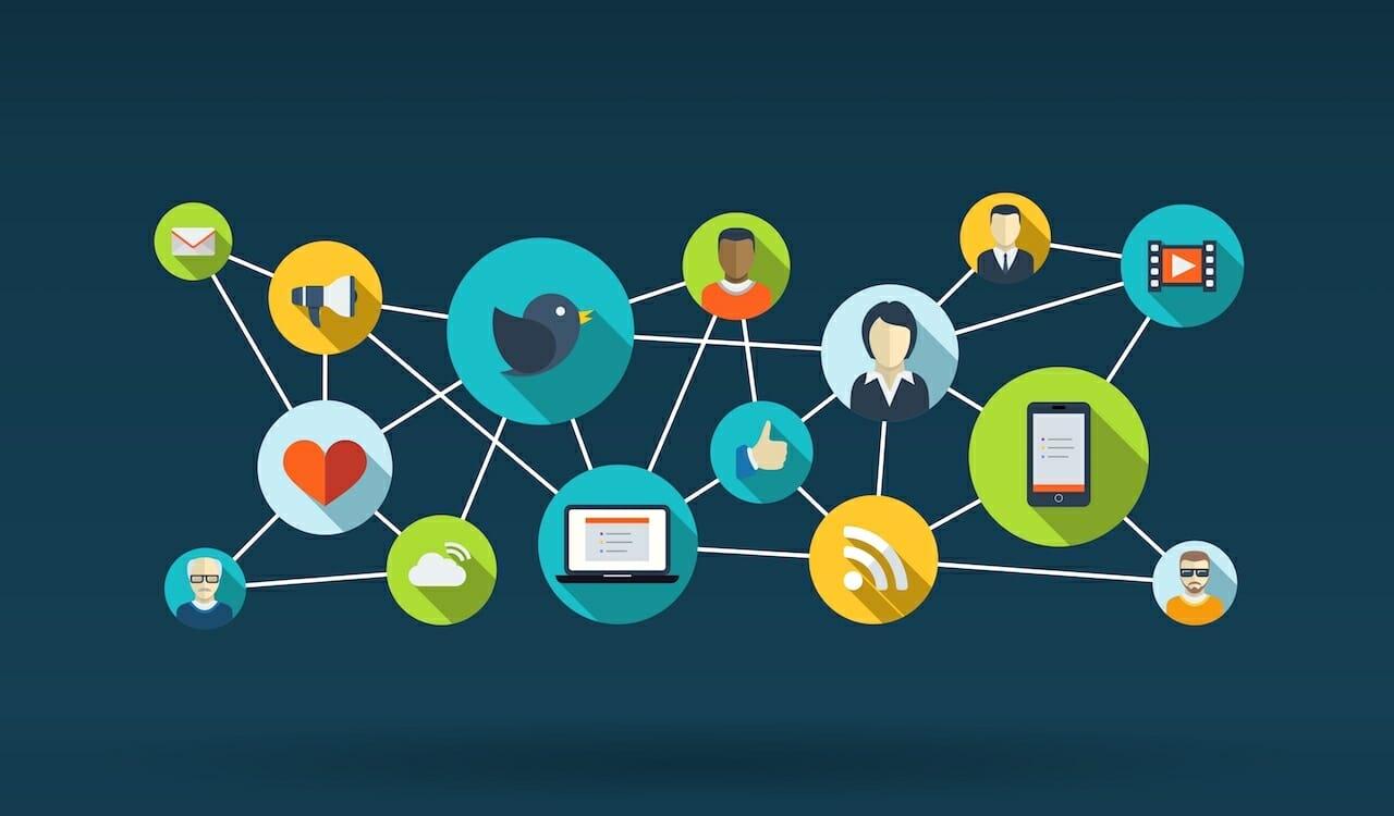 The world of social media marketing infographics