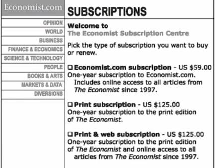 economistpricing