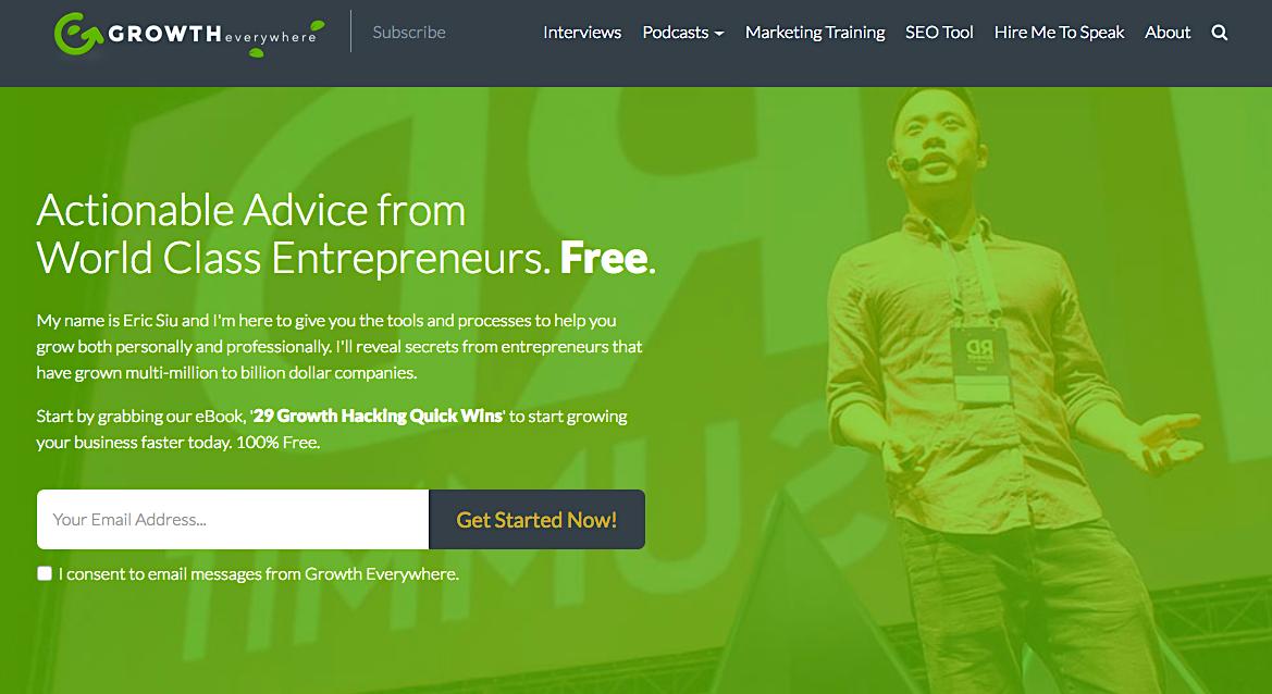 Growth Everywhere podcast for entrepreneurs