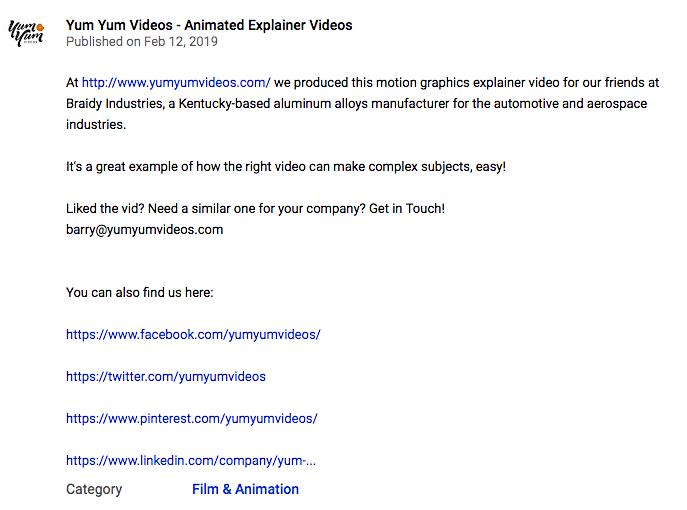 Video description