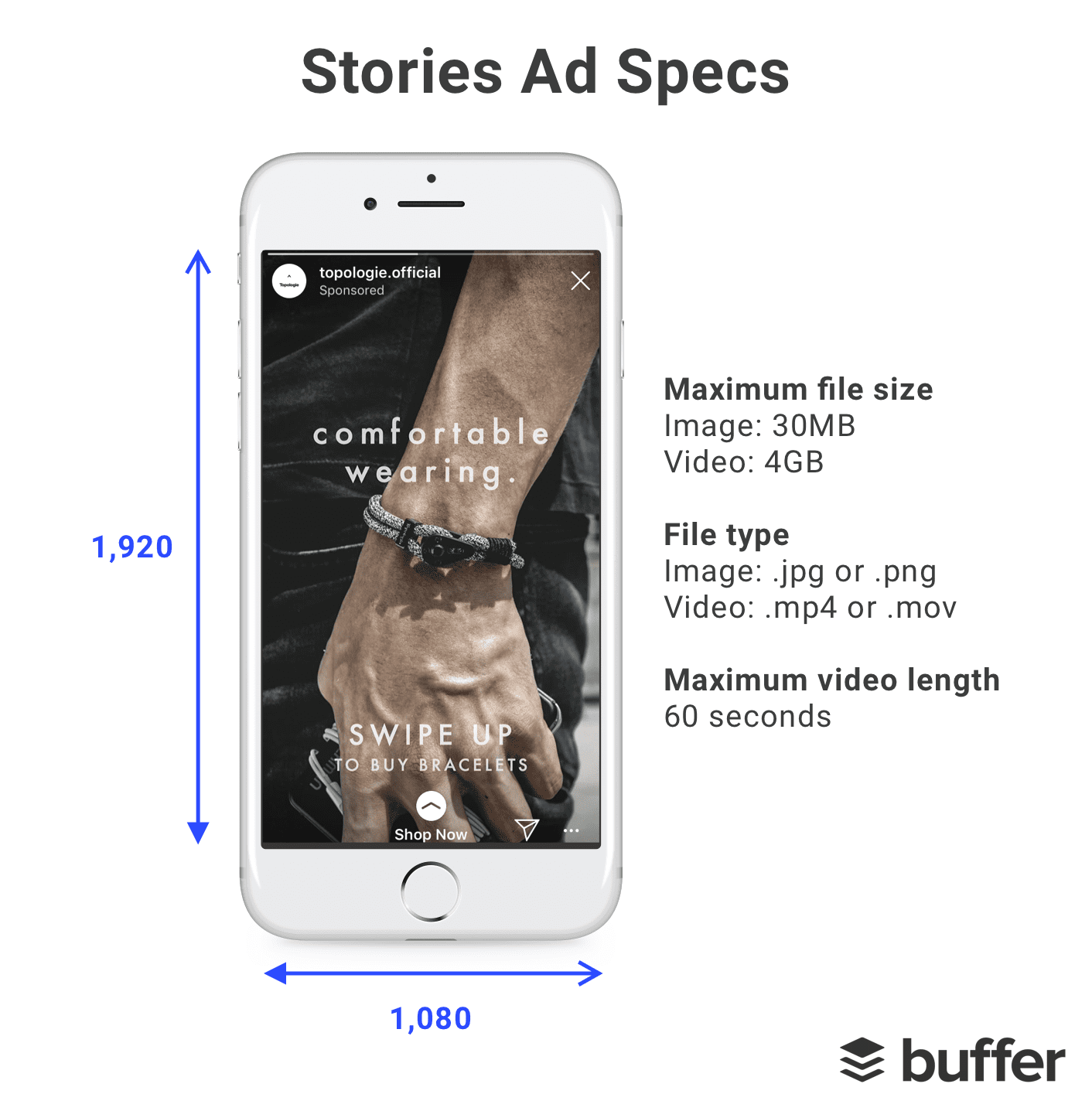 facebook instagram stories ad specs