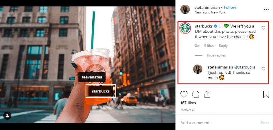 2 Starbucks interaction