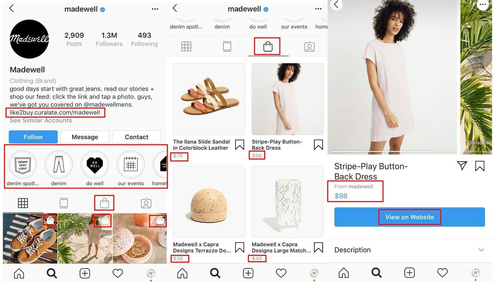 4 MadeWell ecommerce