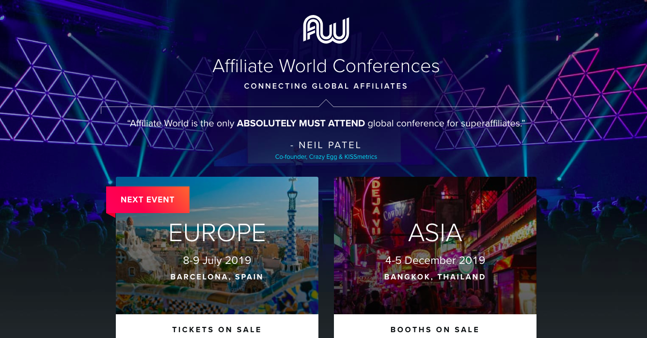 Affiliate World Conferences