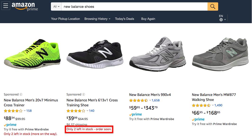 Amazon FOMO