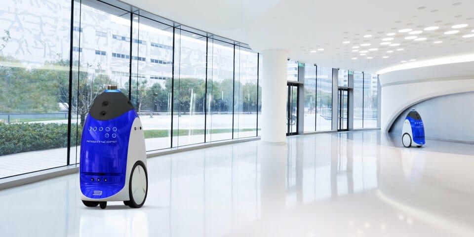 Knightscope AI robot