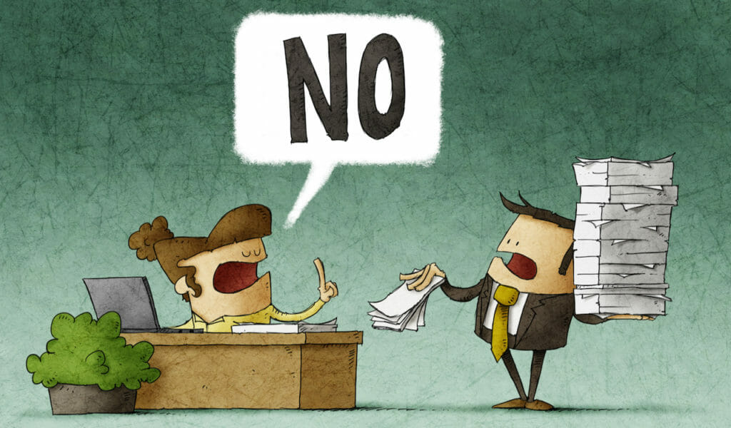 """SG - The Power of """"No"""" in Business_The Best Sales Tactic"""