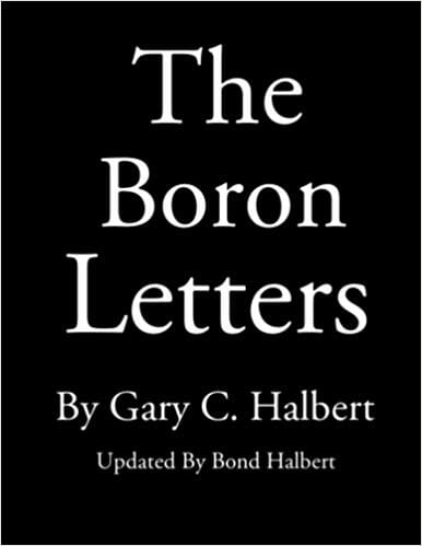 Le lettere di boro