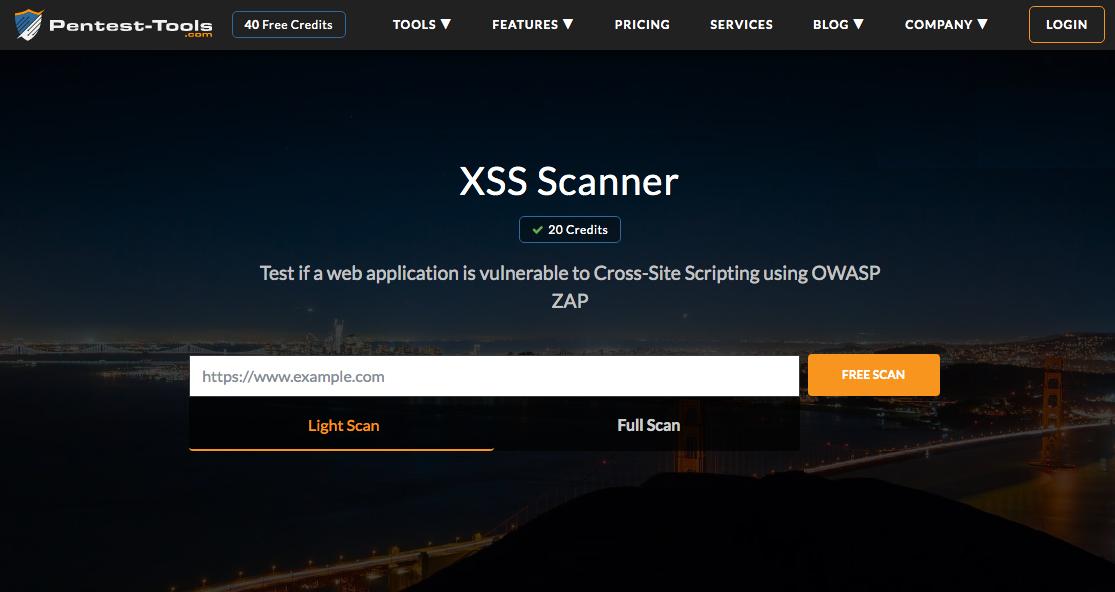 XSS test