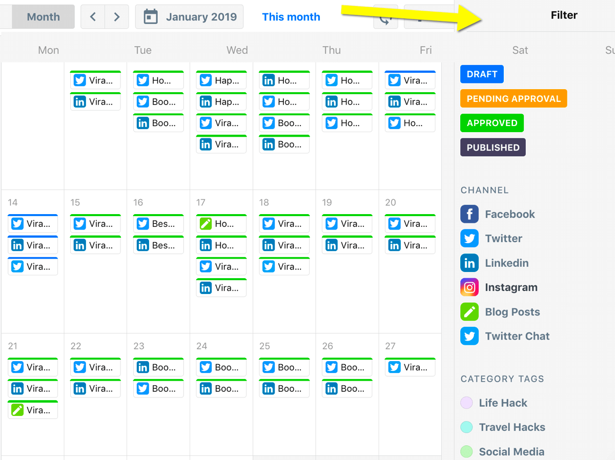 contentcal calendar 2