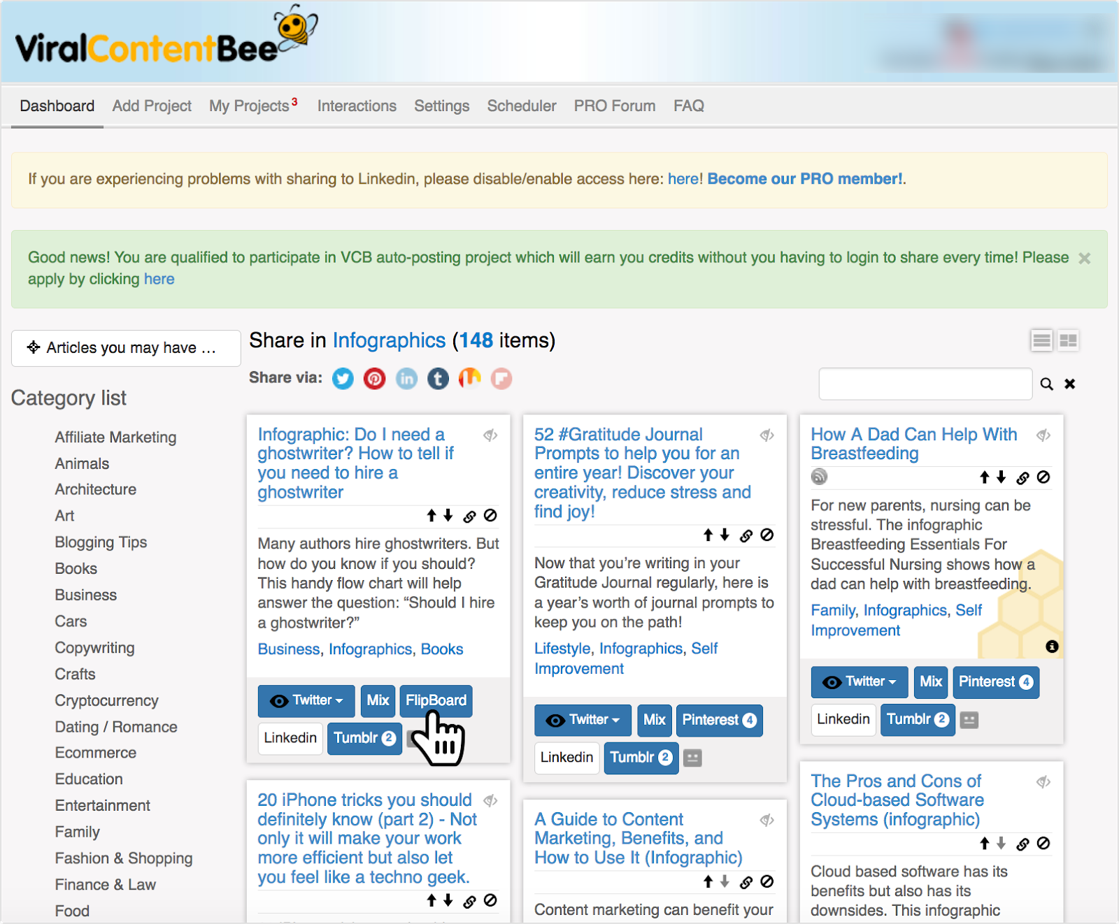 viralcontentbee promote