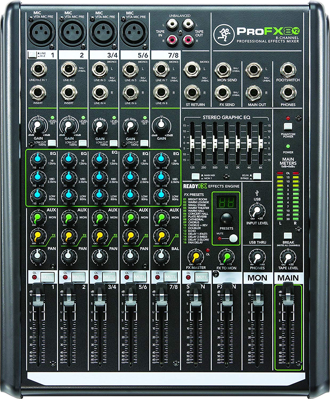 Equipo de audio - mezclador