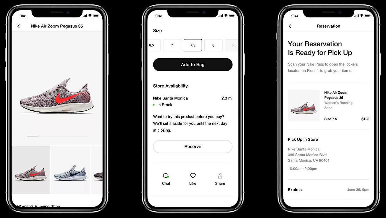 Nike App At Retail
