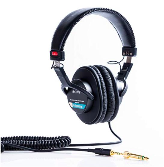 Sony MDR7506 Auriculares de diafragma ancho profesional
