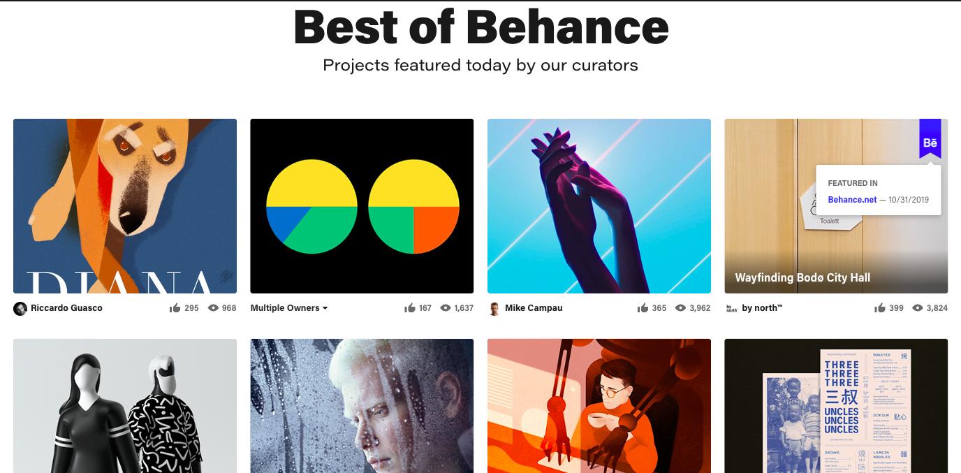 Adobe - Behance