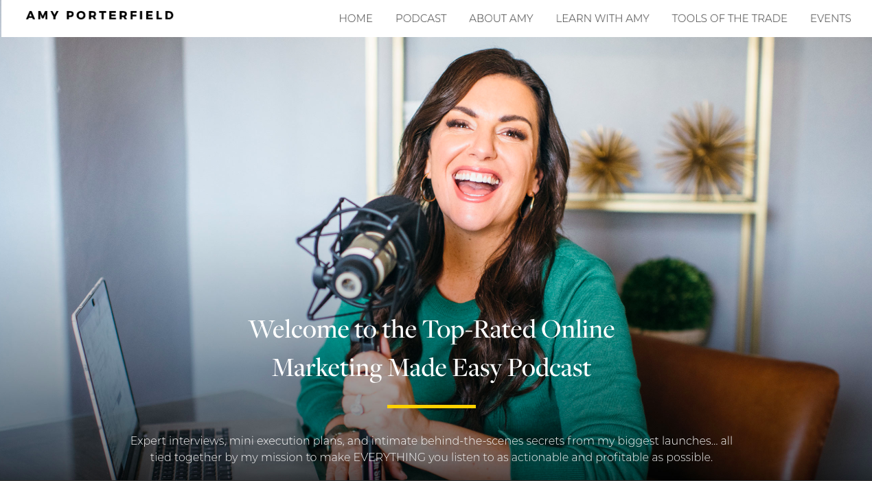 Amy Porterfield podcast