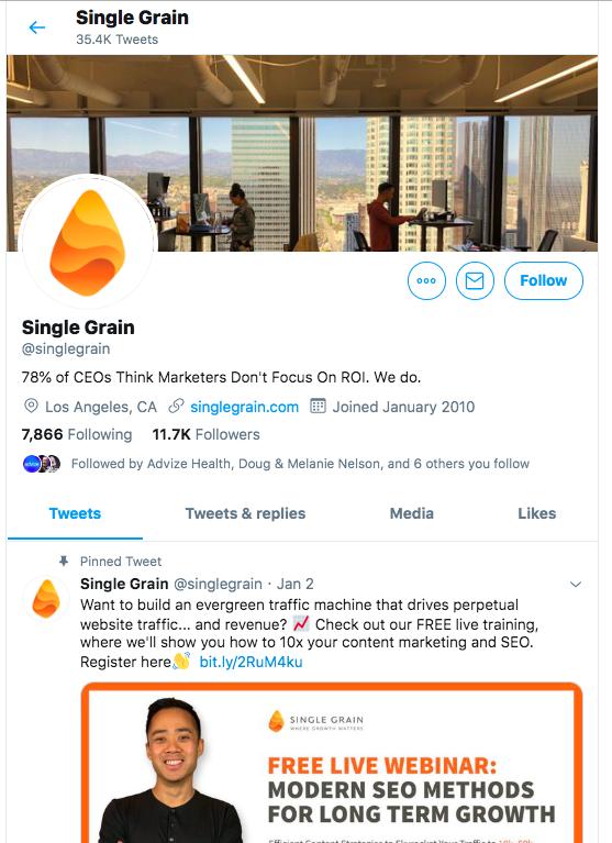 Twitter Single Grain