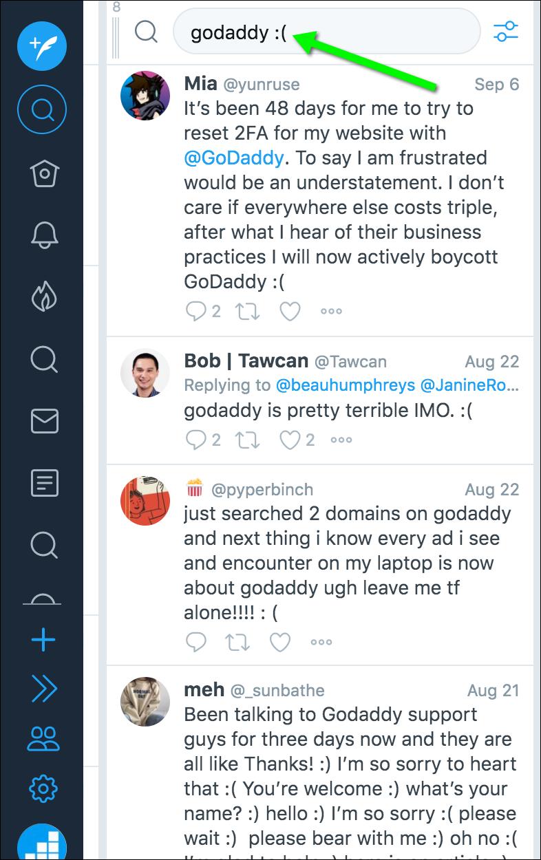 competitor monitoring tweetdeck
