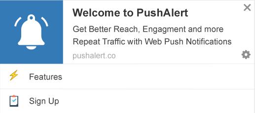 push alerts