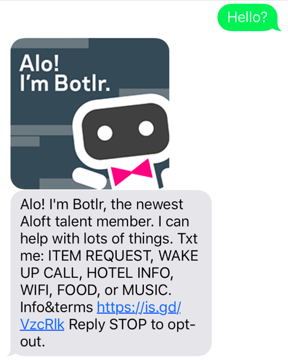 Marriott chatbot