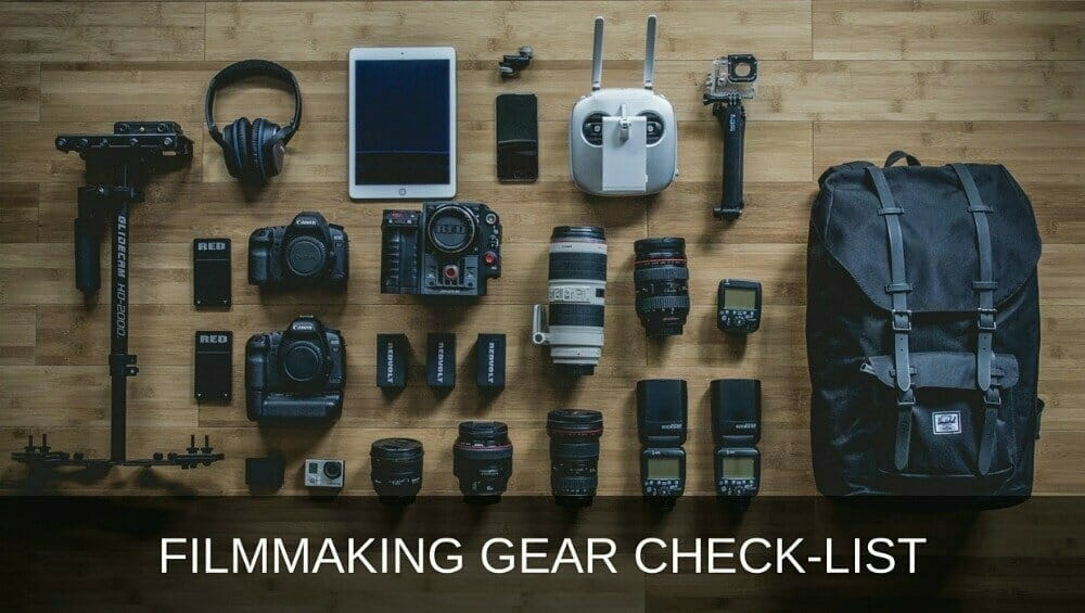 Video Gear Check List 1