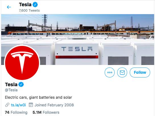 Tesla Twitter