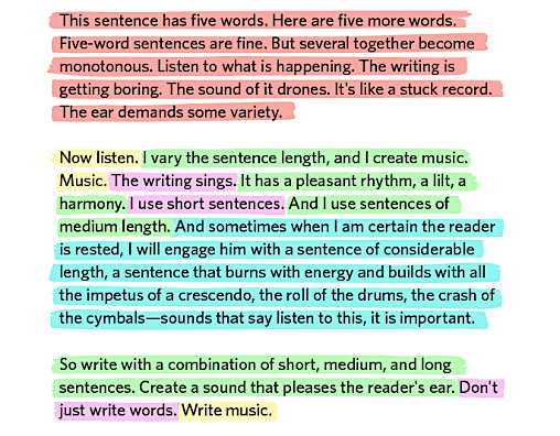 Sentence-and-paragraph-formatting