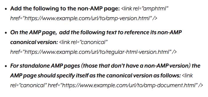SEJ duplicate AMP page