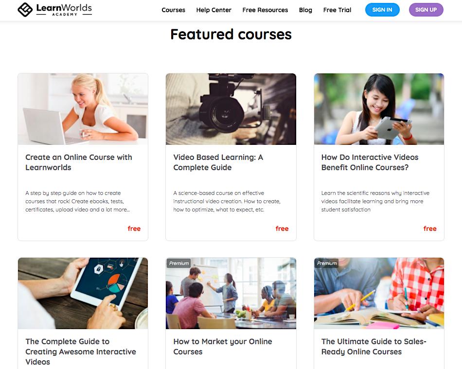 LearnWorlds Academy