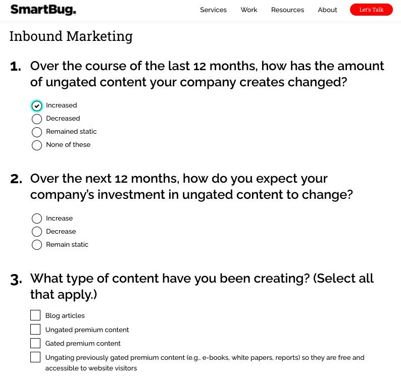 SmartBug assessment