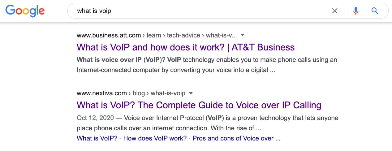 2 Qu'est-ce que la VoIP