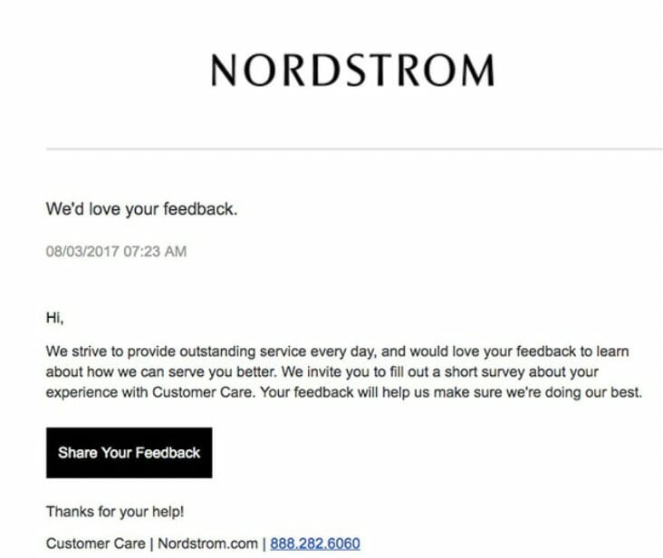 Follow-Up Email To Ask For Feedback