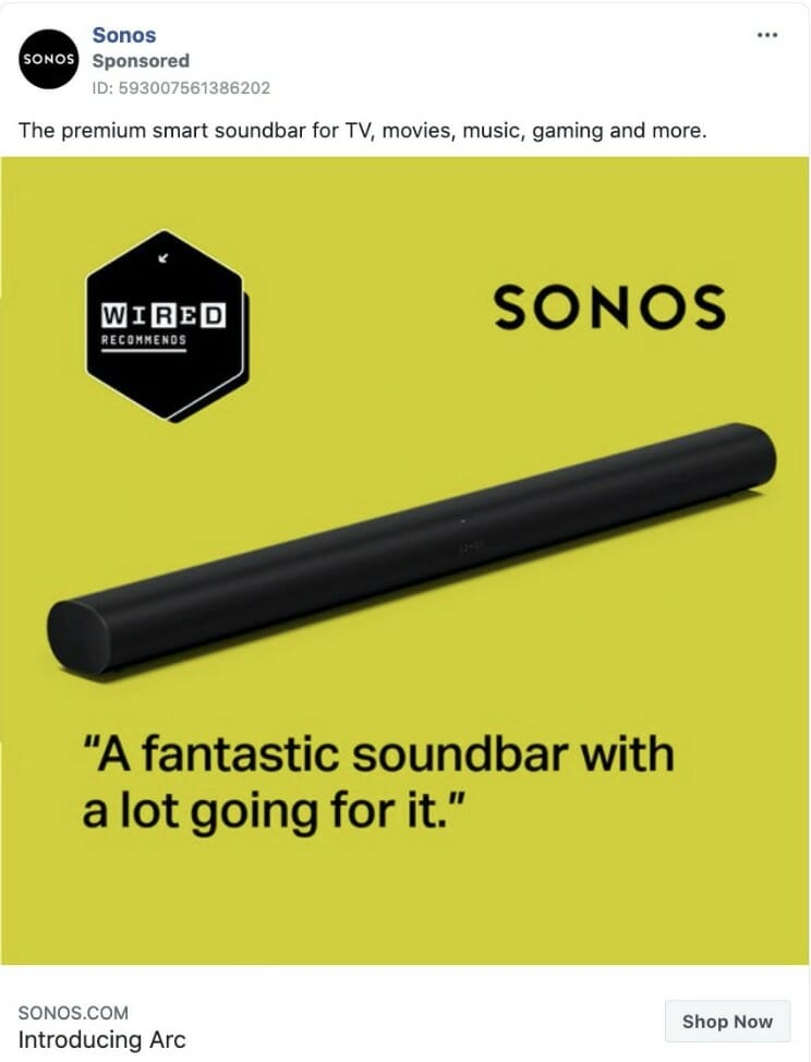Sonos Ad