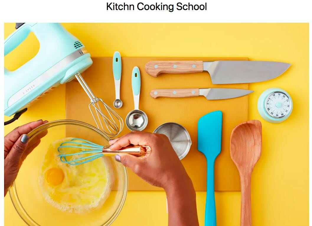 Kitchn Cooking School