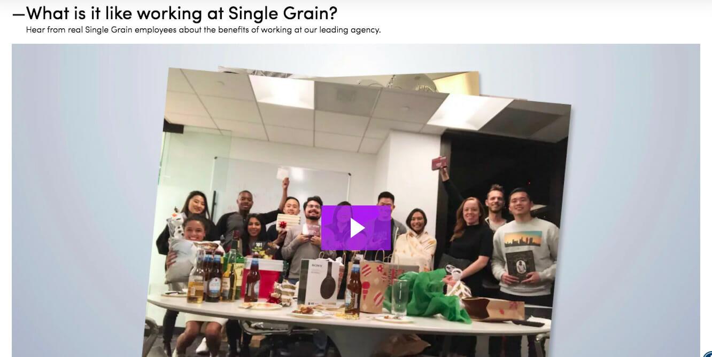 Working for Single Grain