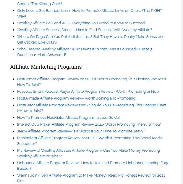 sitemap-full-list-of-links