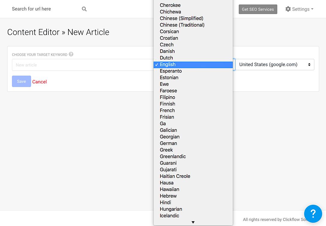 CF Content Editor languages(2)