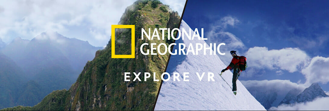 National Geographic VR oculus