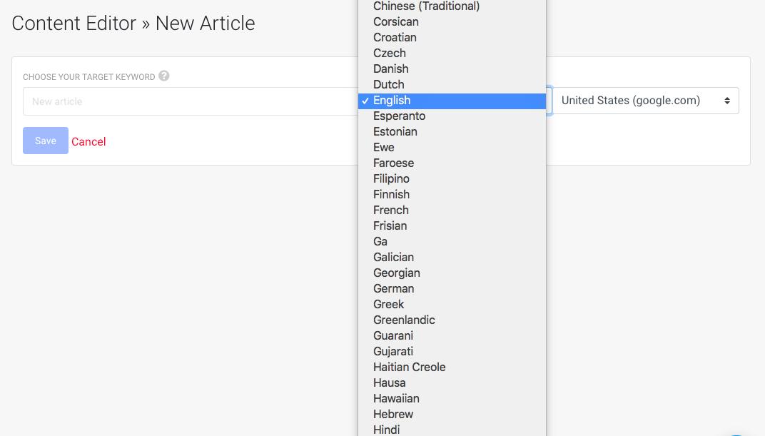 ClickFlow languages