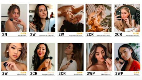 67 Shades of Skin - Dior influencer campaign