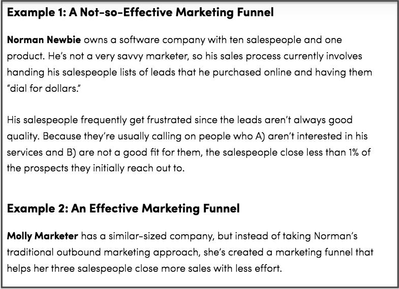 storytelling marketing example