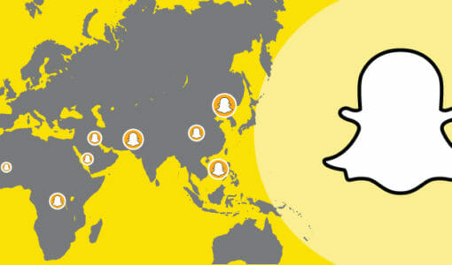 Snapchat Launches New Advertising Feature: Snap Map