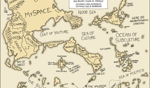 A Map of The Internet